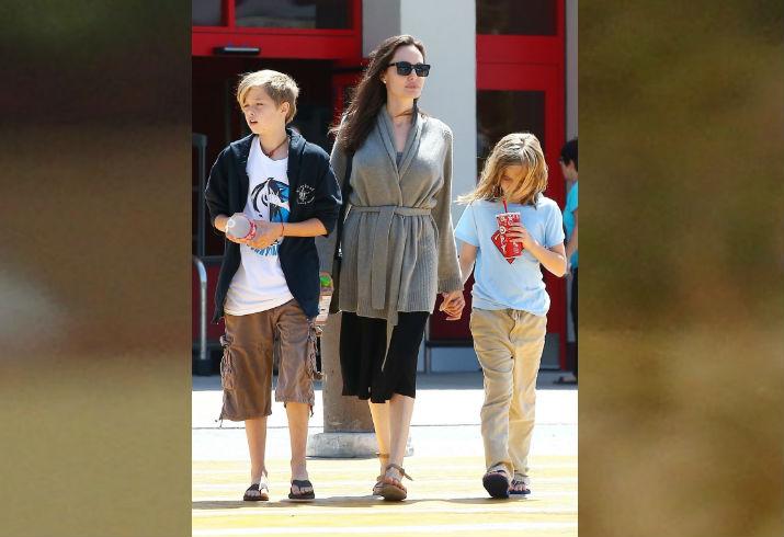 Shiloh Jolie-Pitt, Angelina Jolie, Vivienne Jolie-Pitt