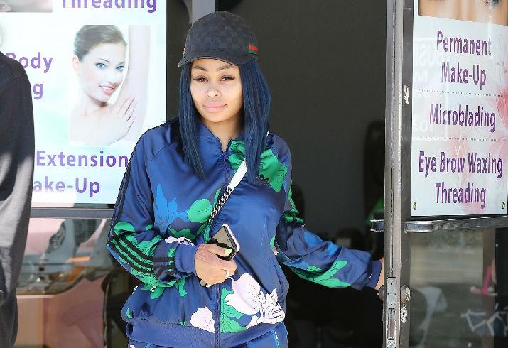 Blac Chyna Treats Herself To A Mani Pediagain Star Magazine