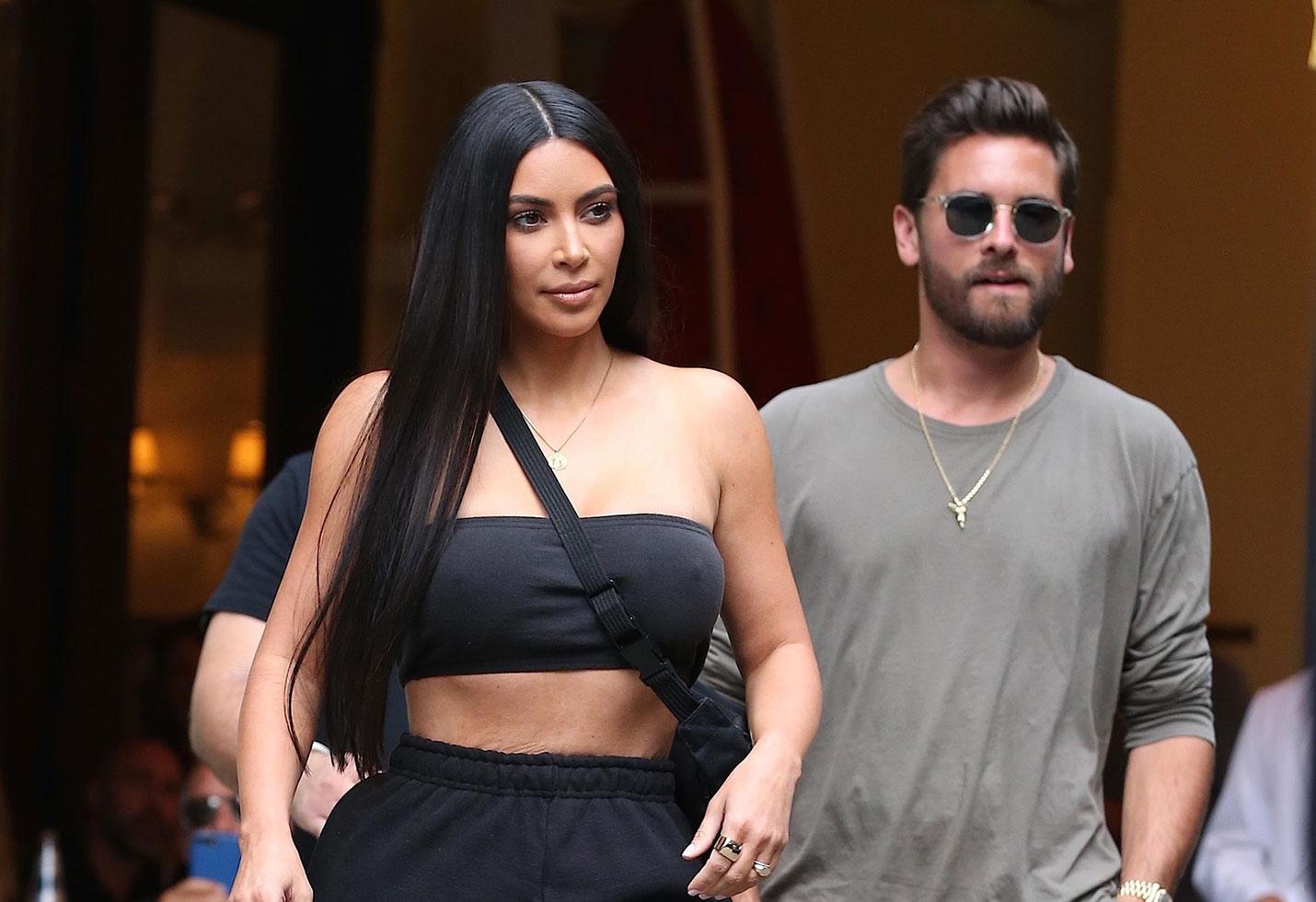 Kim kardashian shopping scott disick nyc