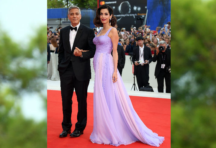 George and Amal Clooney Red Carpet