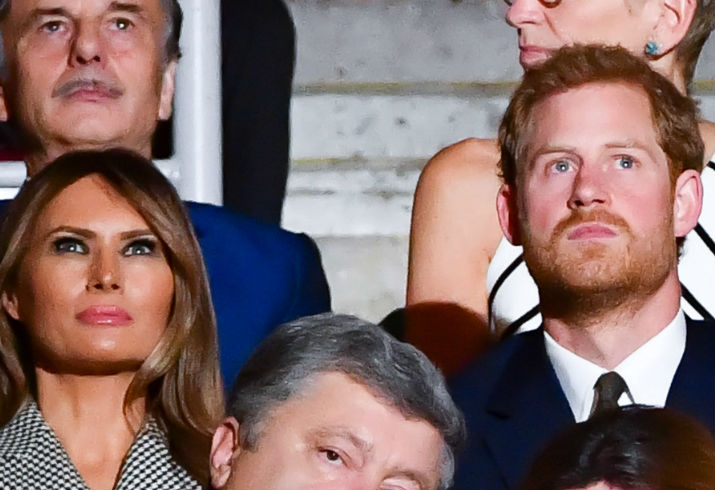 Prince Harry, Melania Trump