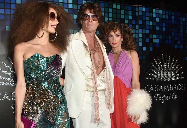Amal Clooney, Rande Gerber, Cindy Crawford