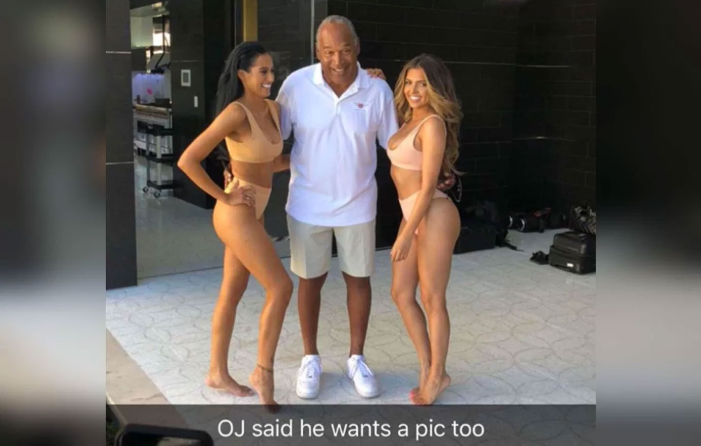 OJ SImpson bikini models photo prison feature