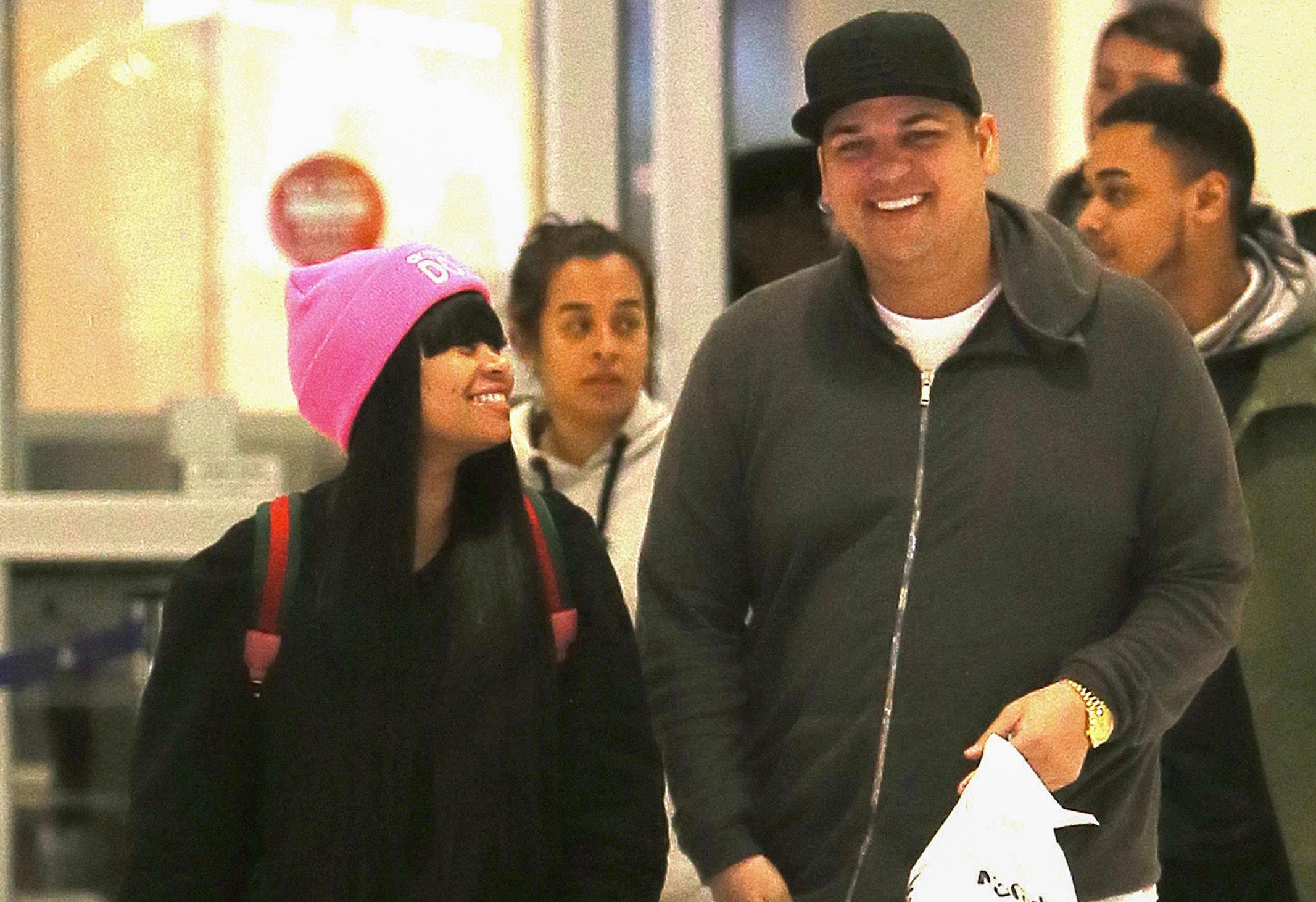 Blac chyna says rob kardashian secret 100k weight loss surgery