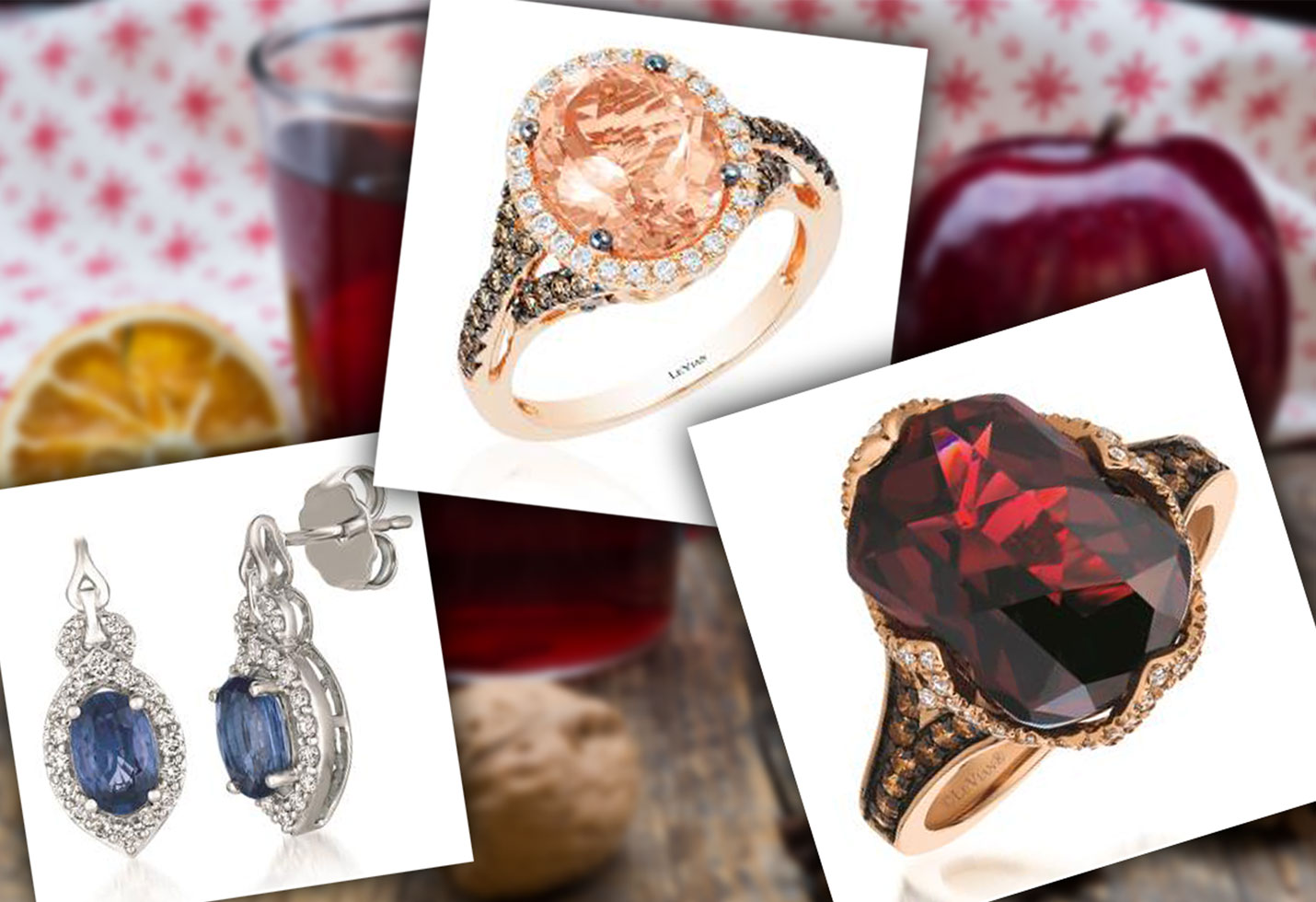 Le vian holiday cocktails star pp