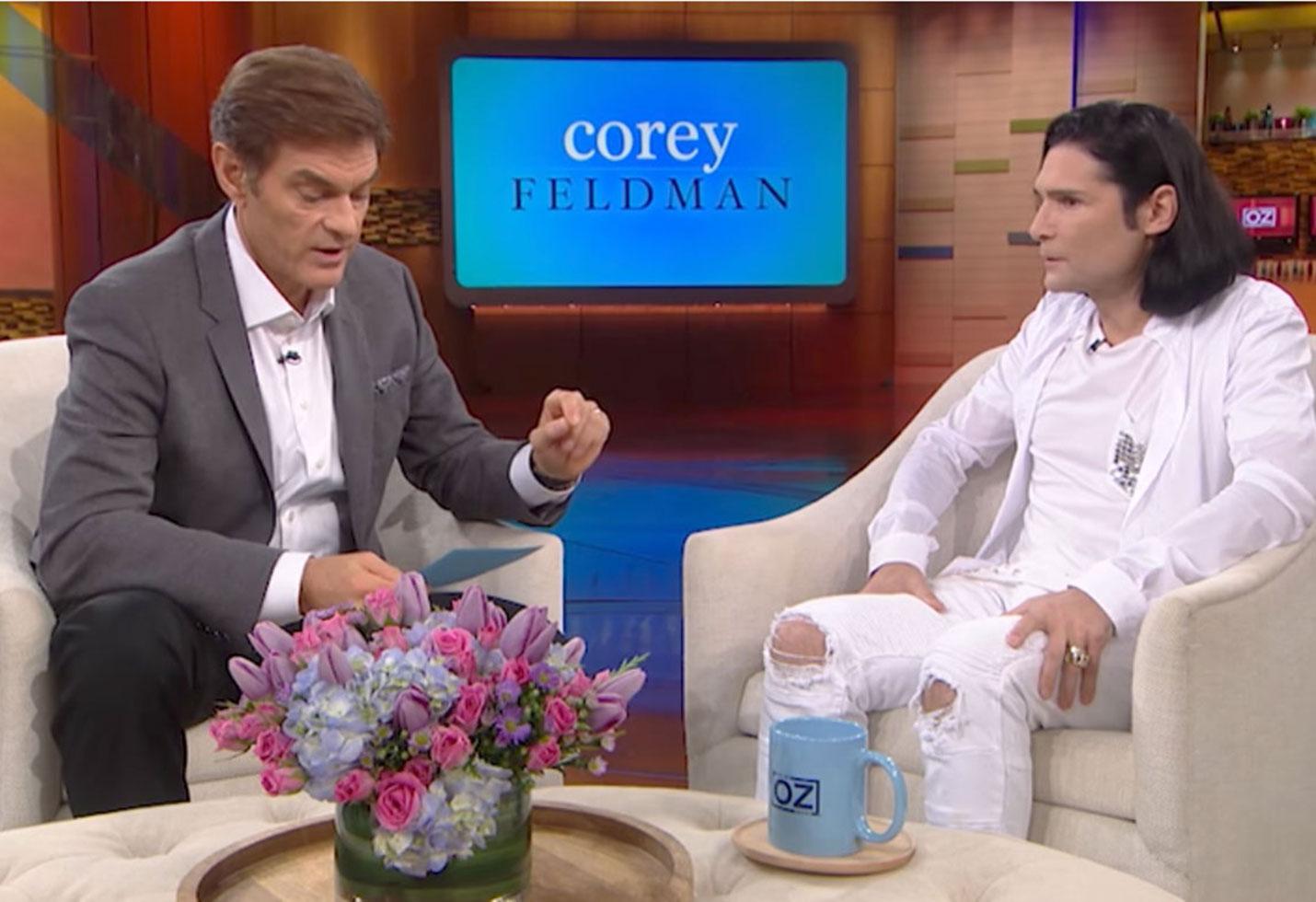 Corey Feldman Calls LAPD Report Molesters Dr Oz feature