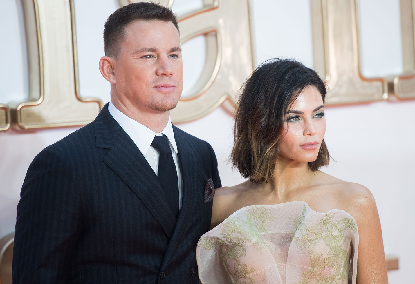 Find jenna dewan reacts news channing tatum used stripper
