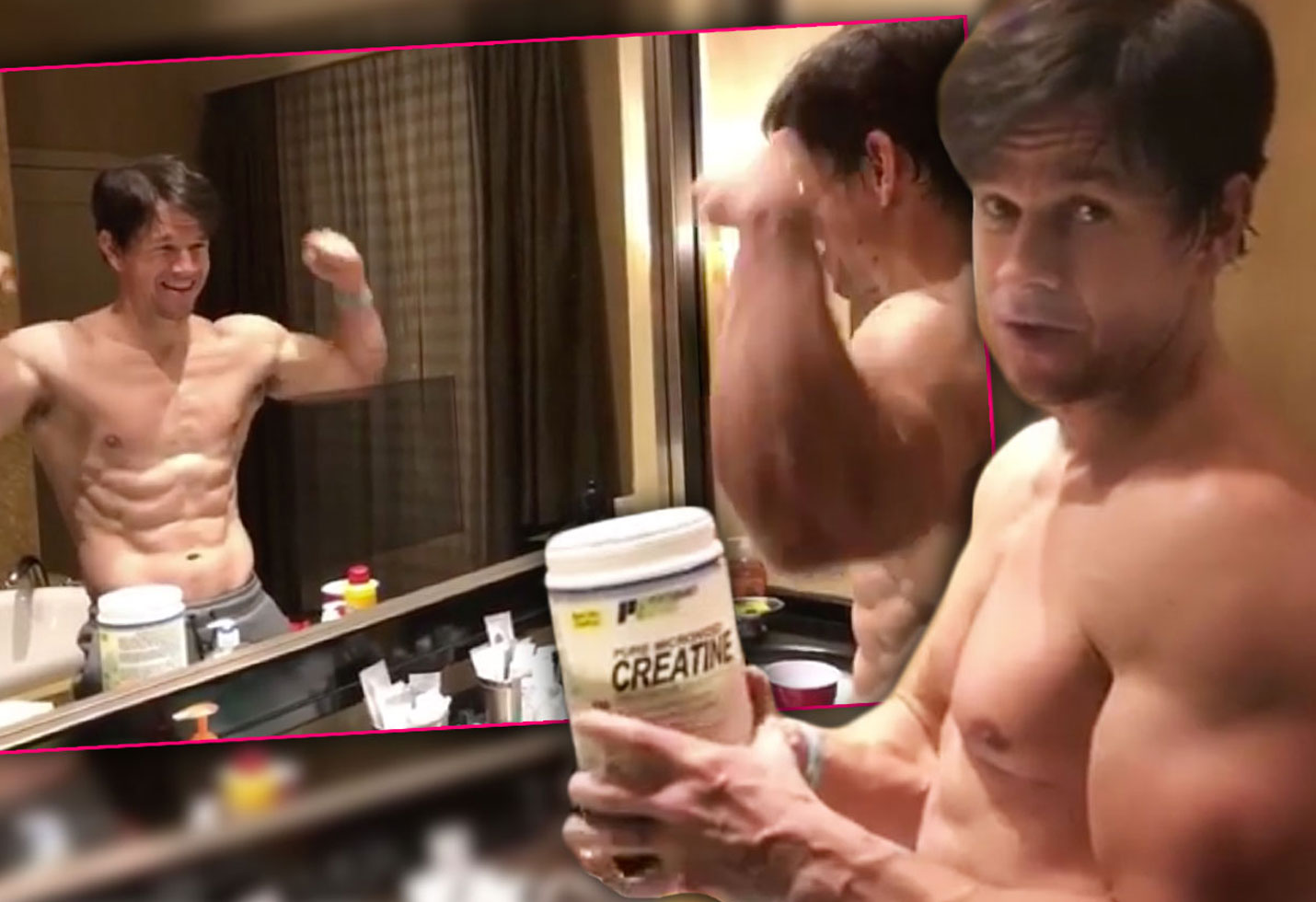 Holy marky mark see wahlbergs killer bod hes crazy ripped pp
