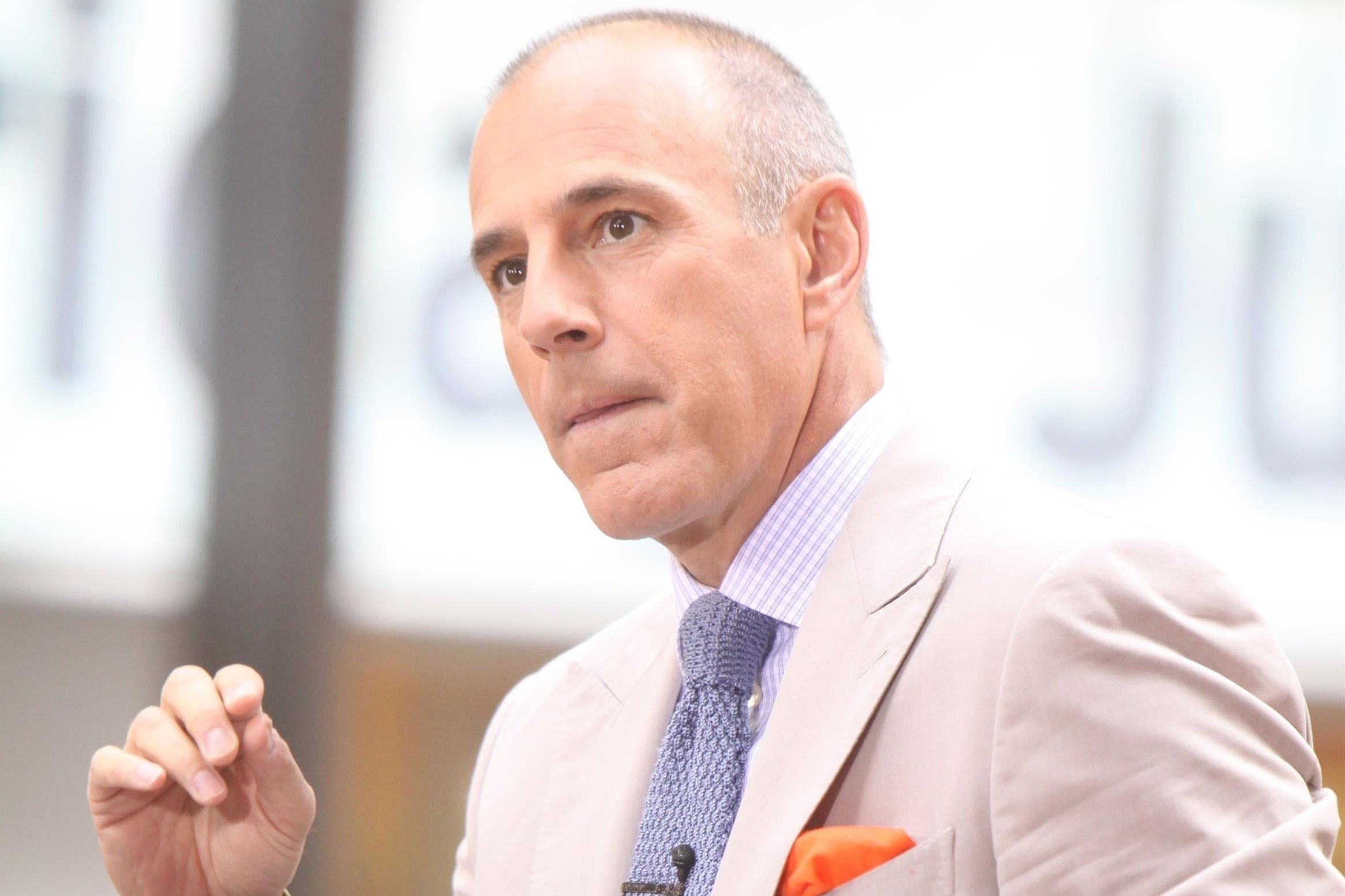 Matt lauer fired today show inappropriate sexual behavior pp