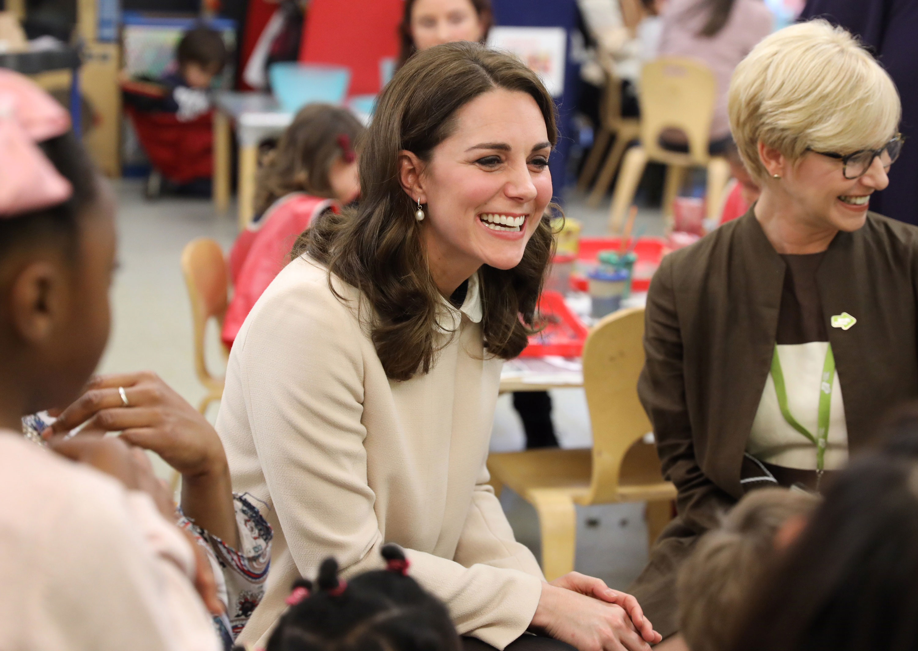 Pregnant kate middleton visits hornsey road childrens center feature