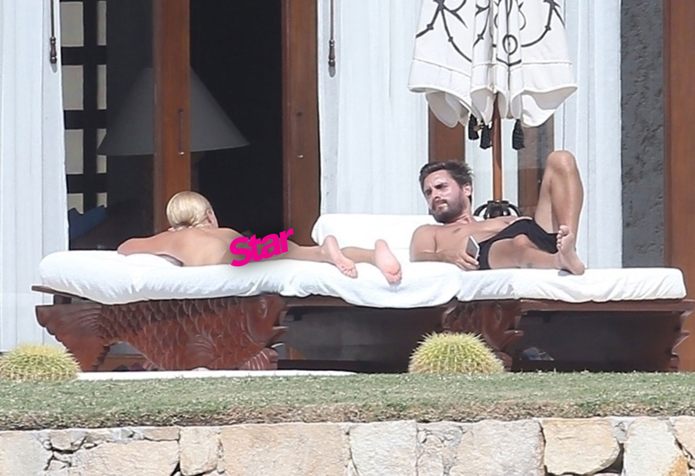 Sofia richie goes topless vacation scott disick pp star
