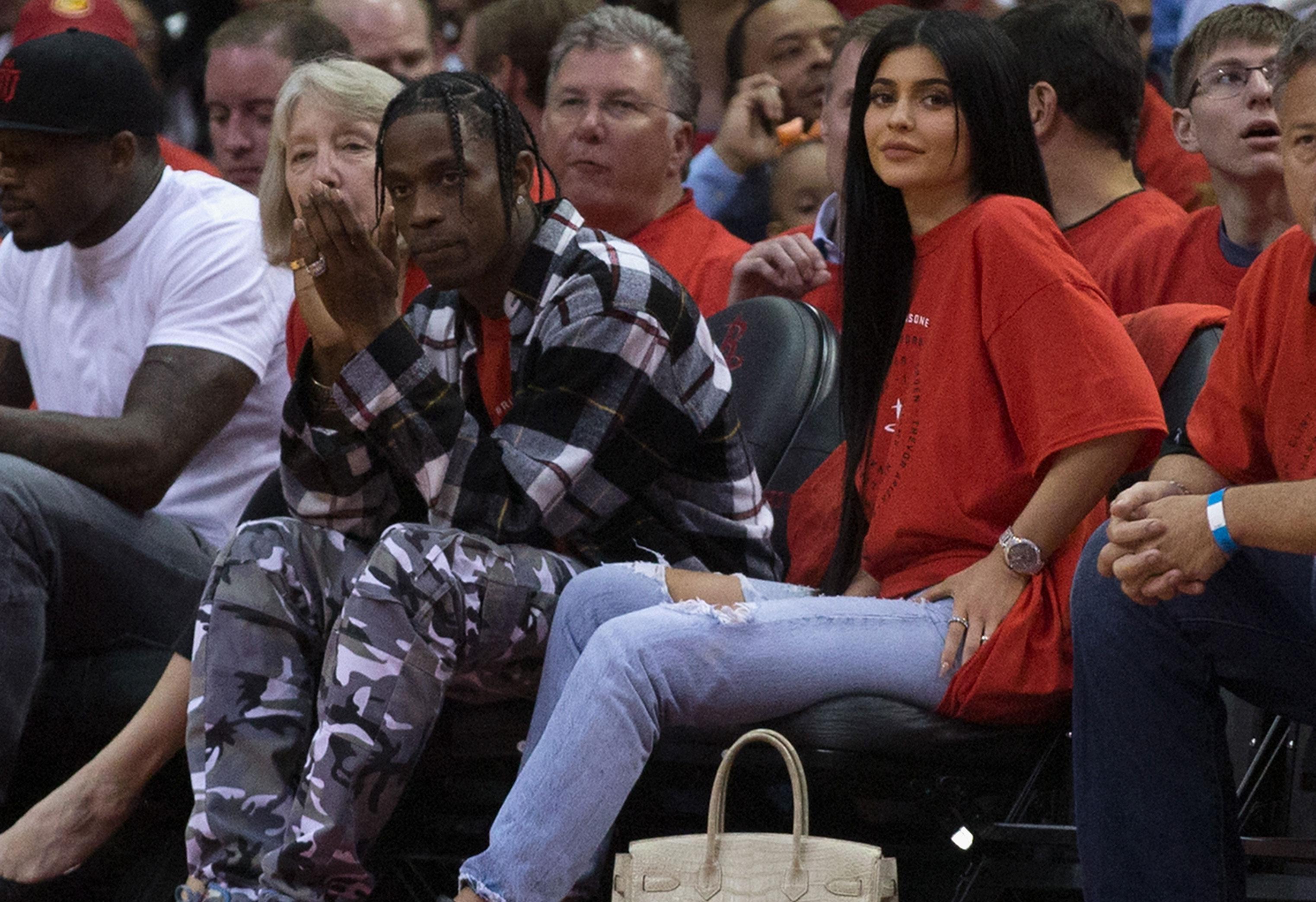Kylie Jenner travis scott pp