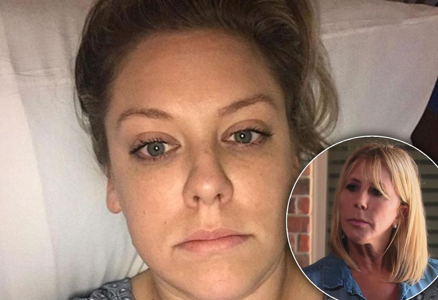 Vicki Gunvalsons Daughter Briana Culberson Hospitalized