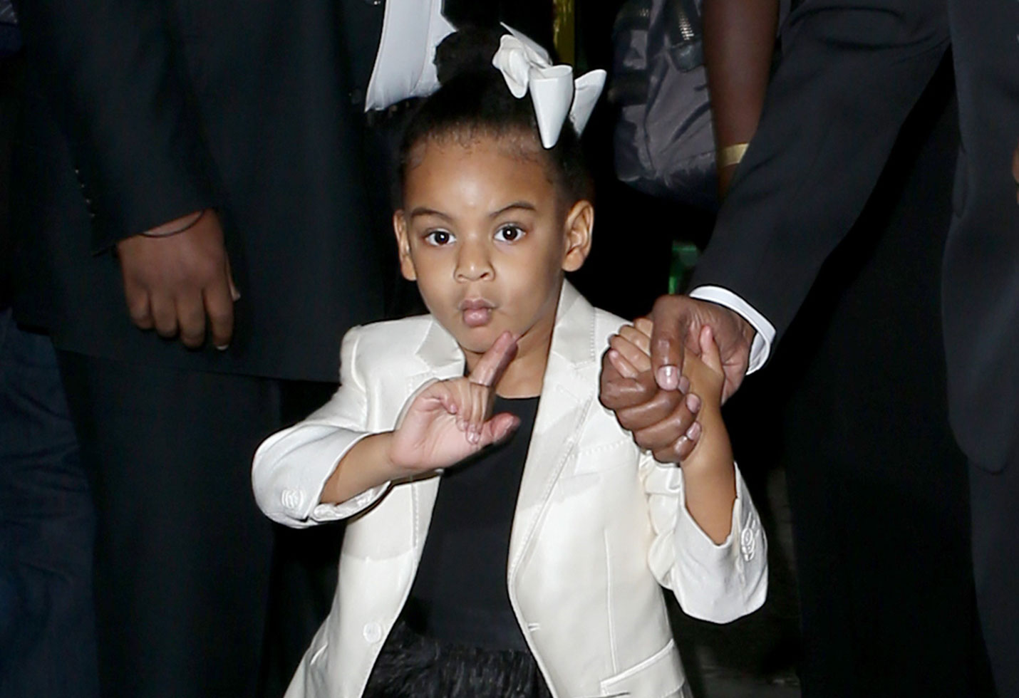 Blue ivy has personal shopper and stylist