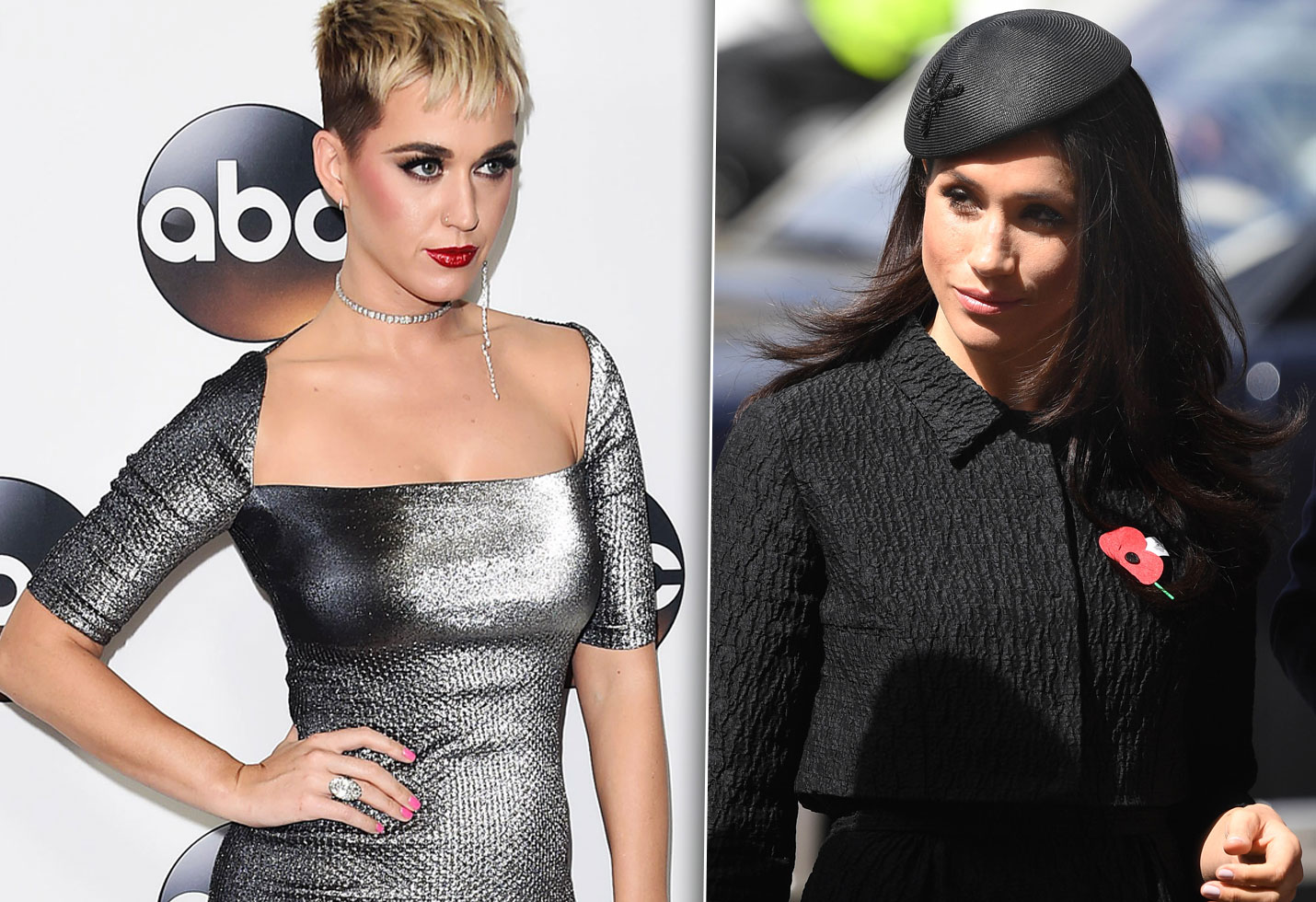 Katy perry disses meghan markle