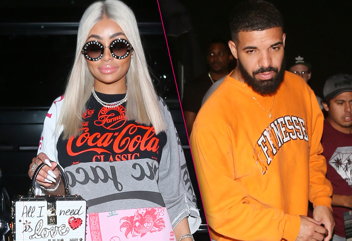 blac chyna drake spotted partying together all night long