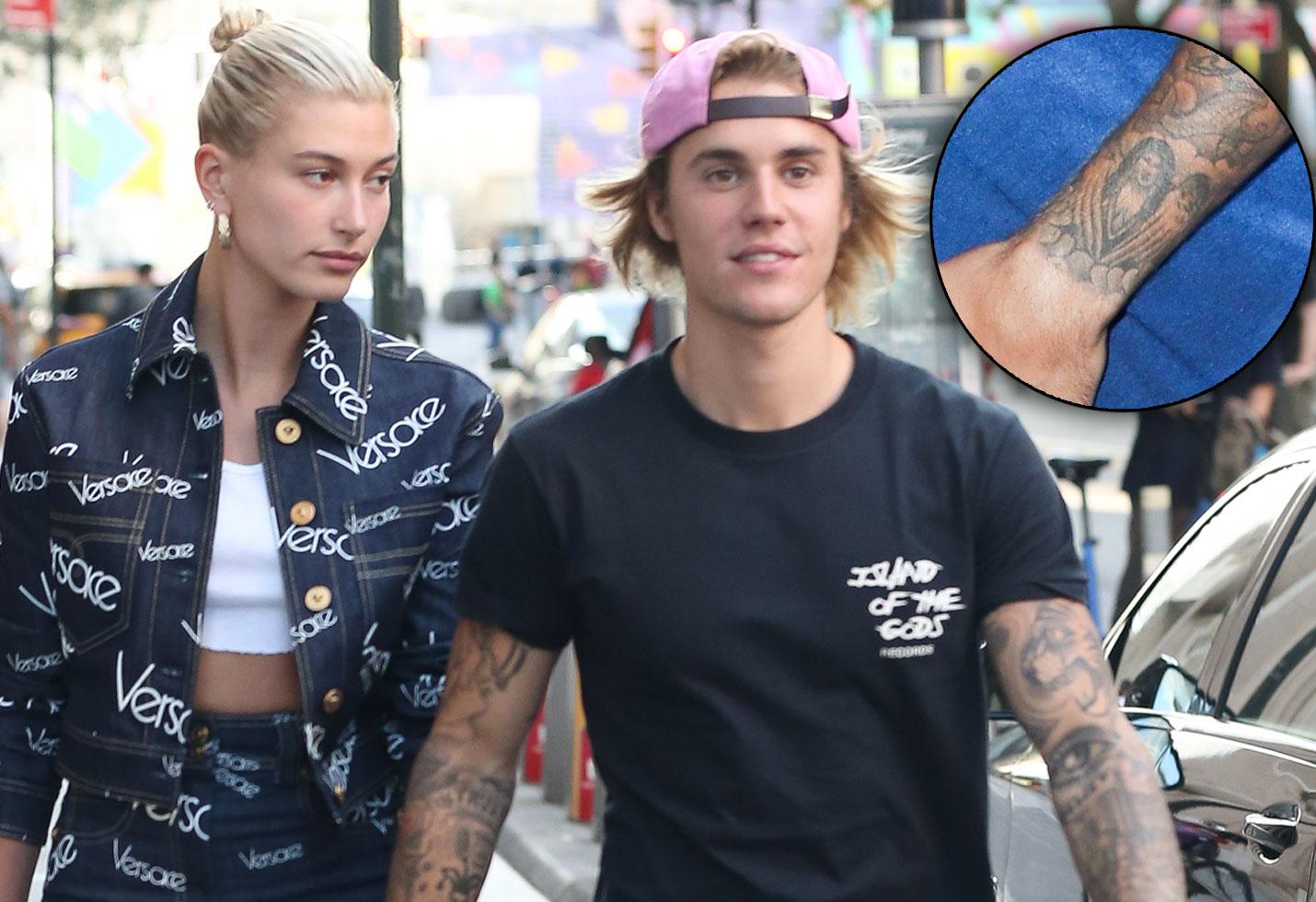 Justin Bieber Still Has Selena Gomez Tattoo Despite Engagement