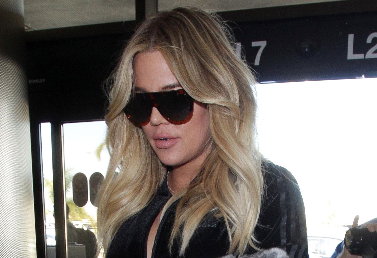 Khloe Kardashian Anxious Leaving Baby True To Go Back To Work