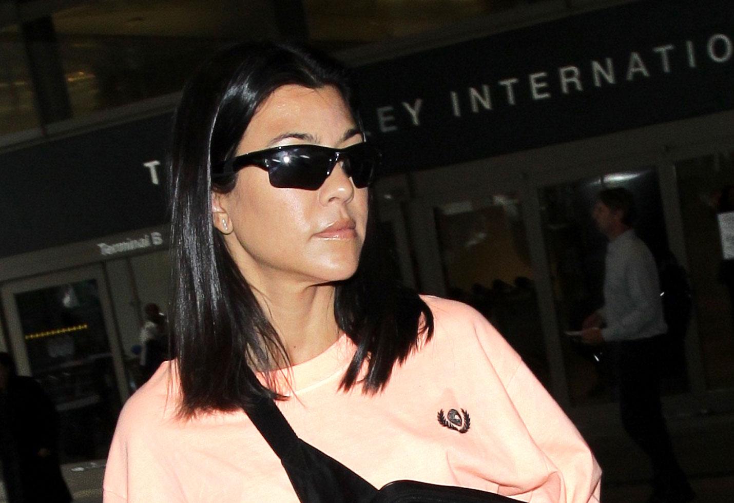 Kourtney Kardashian Vacation Over Younes Bendjima