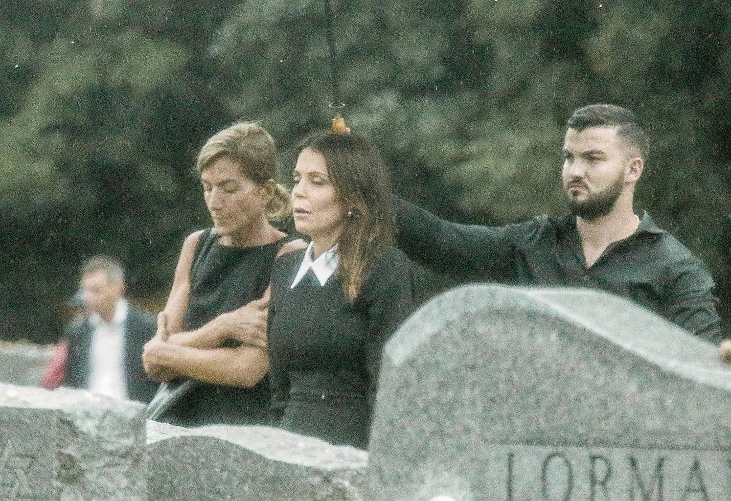 Bethenny Frankel Dennis Shields Funeral