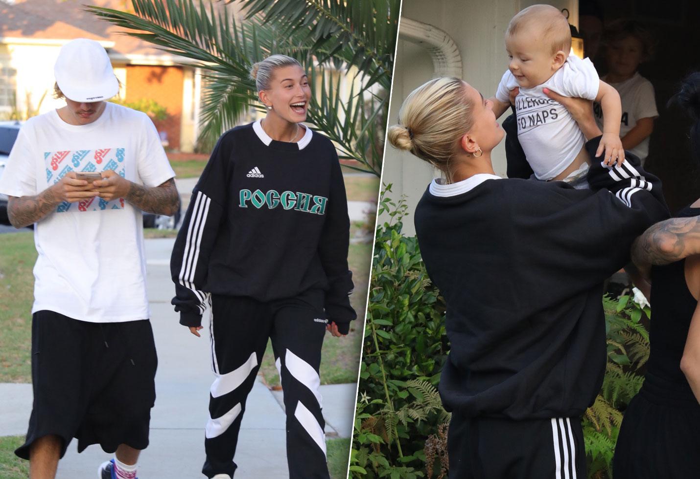 Baby On Board Justin Bieber Hailey Baldwin Practice Parenting