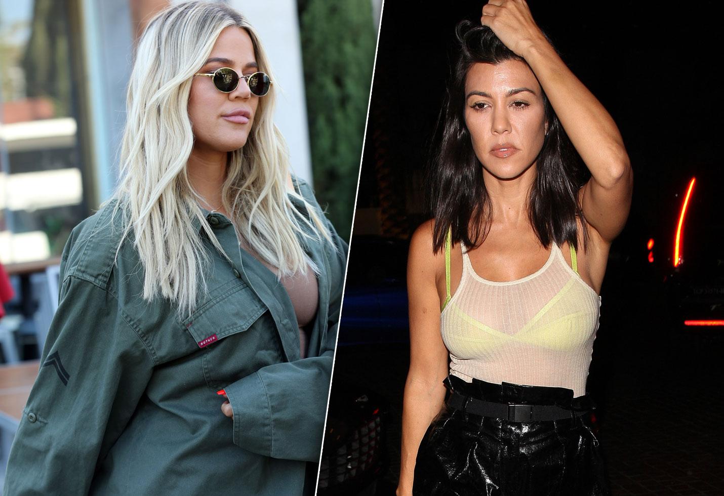 Khloe Kardashian Kourtney Breakup Fight Twitter