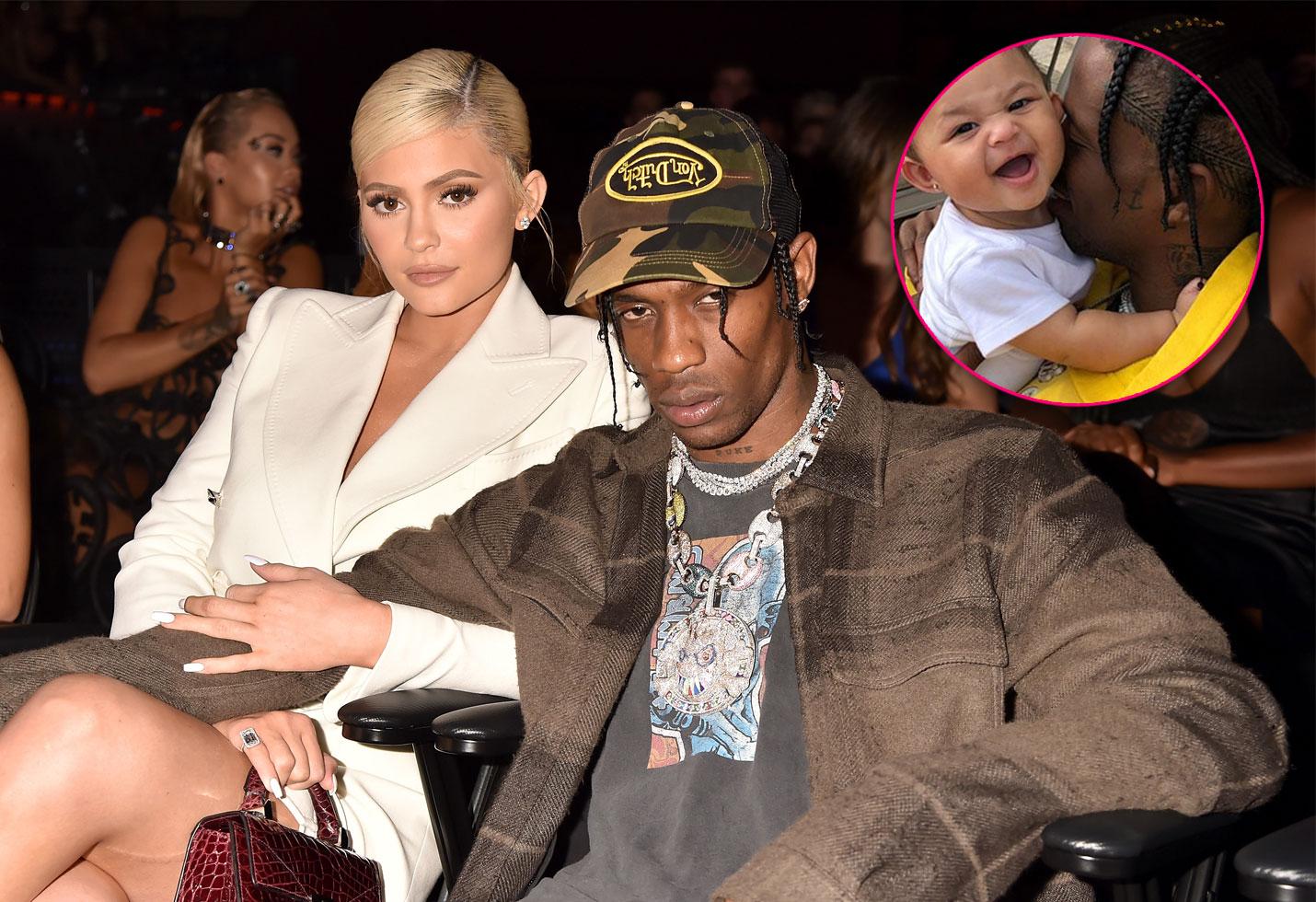 Kylie Jenner Travis Scott Stormi Nicki Minaj Feud