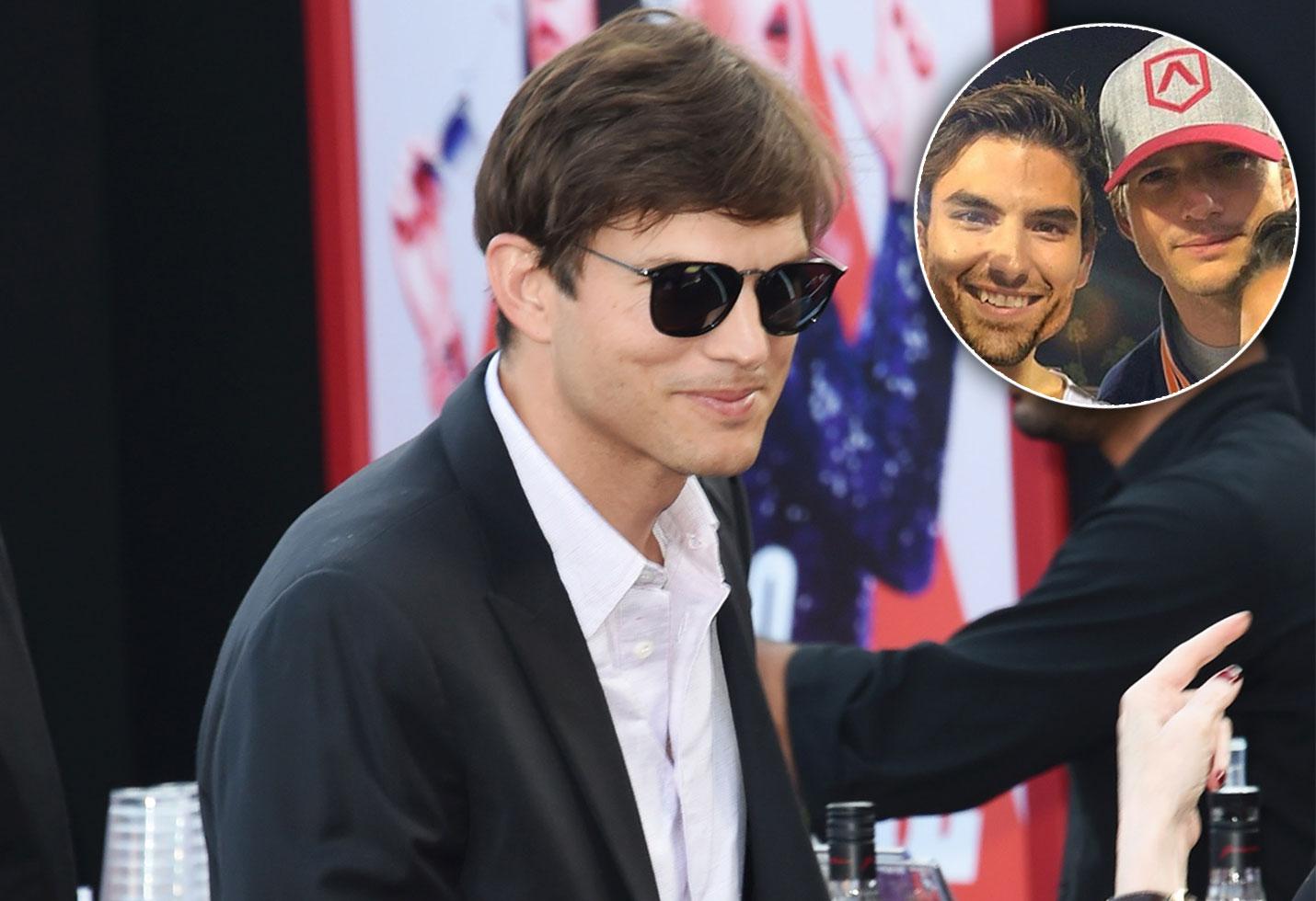ashton kutcher jared haibon mila kunis ashley iaconetti