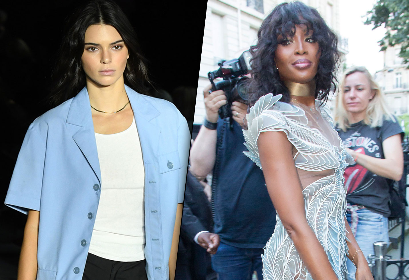 Kendall Jenner and Naomi Campbell Walked in Givenchy's MenswearShow Kendall Jenner and Naomi Campbell Walked in Givenchy's MenswearShow new images