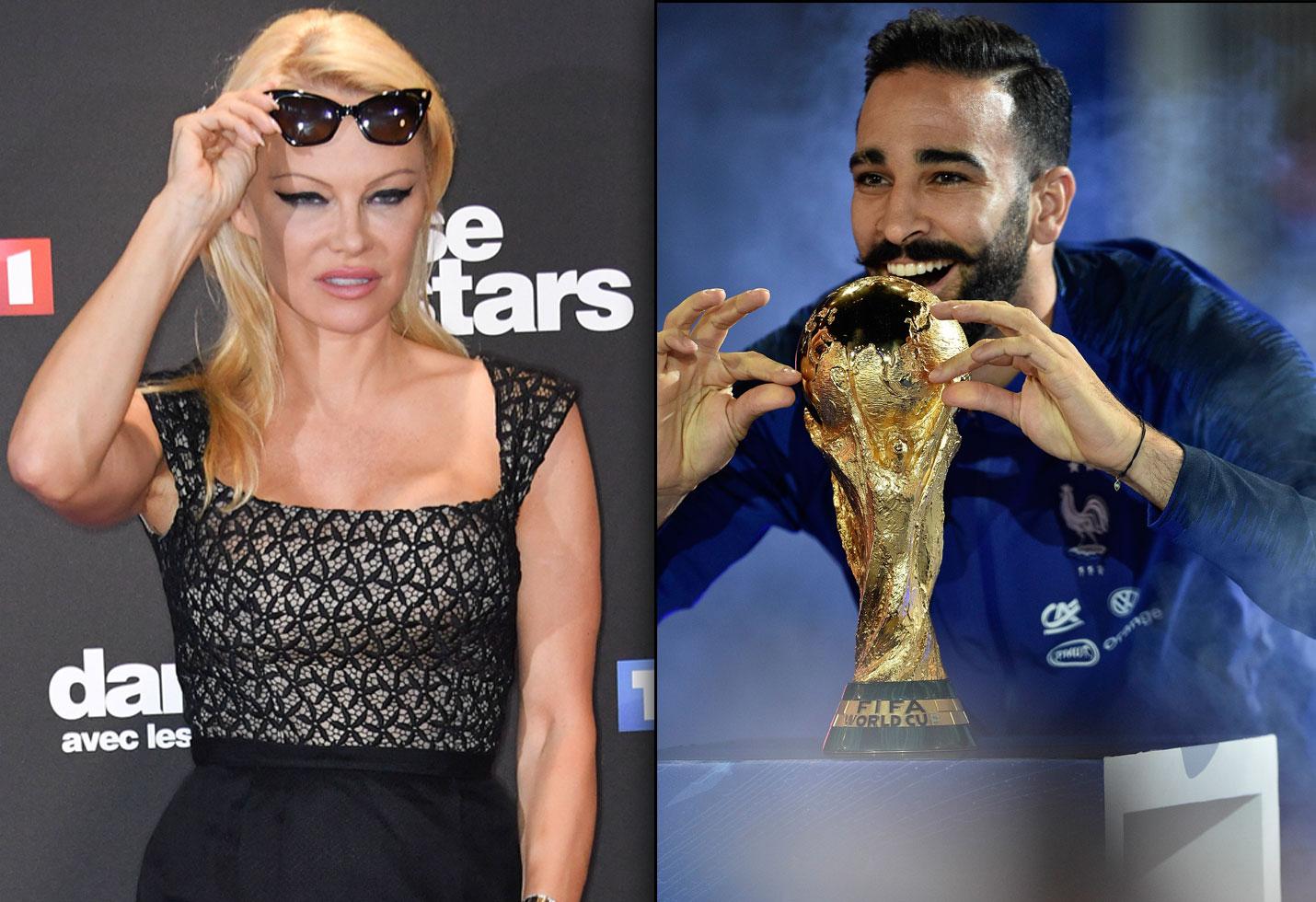 Pamela Anderson breakup Adil Rami