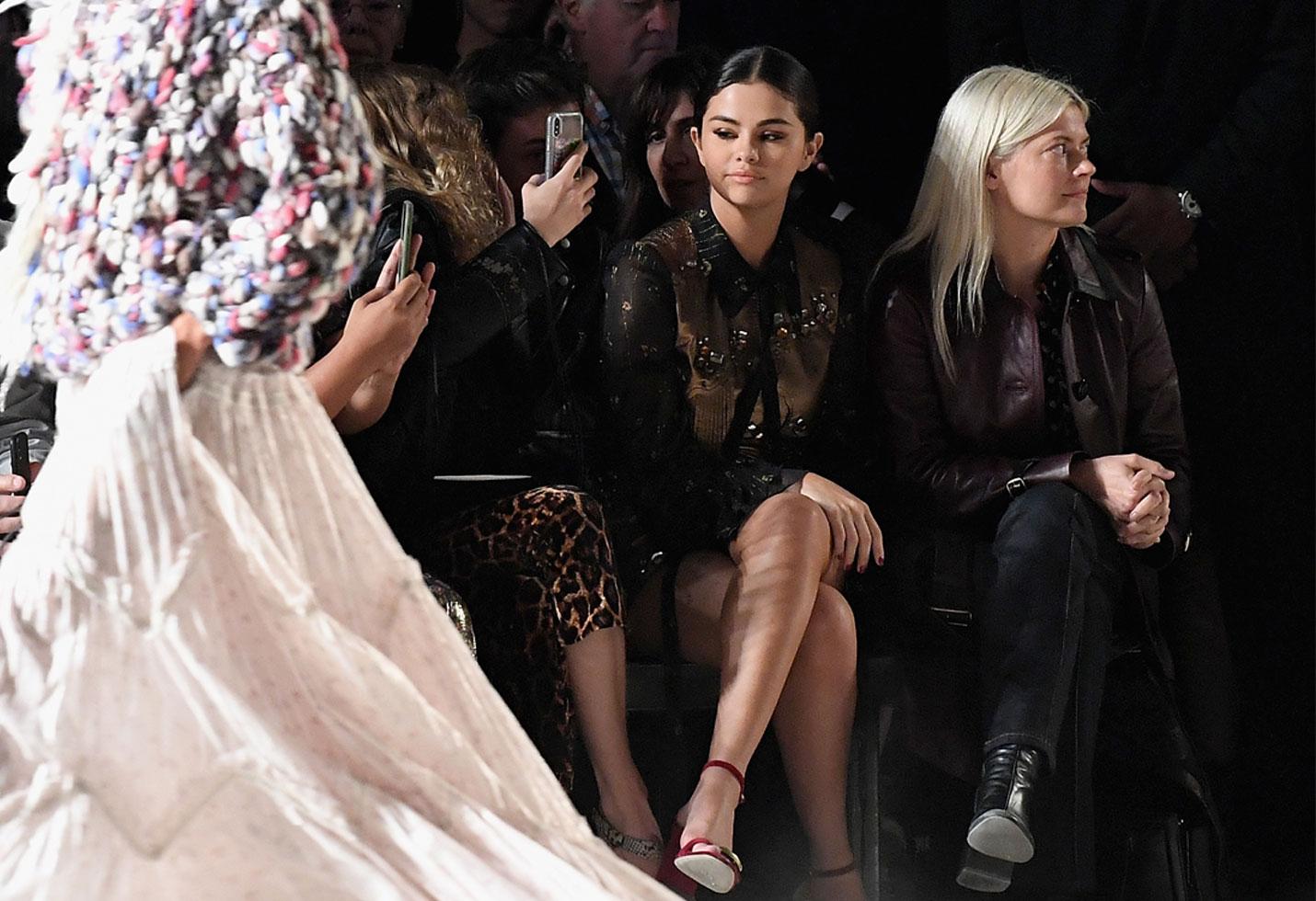 Selena Gomez NYFW Haters Stefano Gabbana