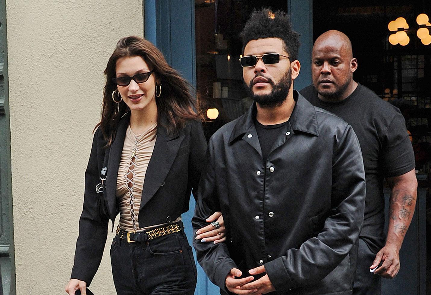 Bella Hadid Birthday The Weeknd PDA Love Hand Holding NYC