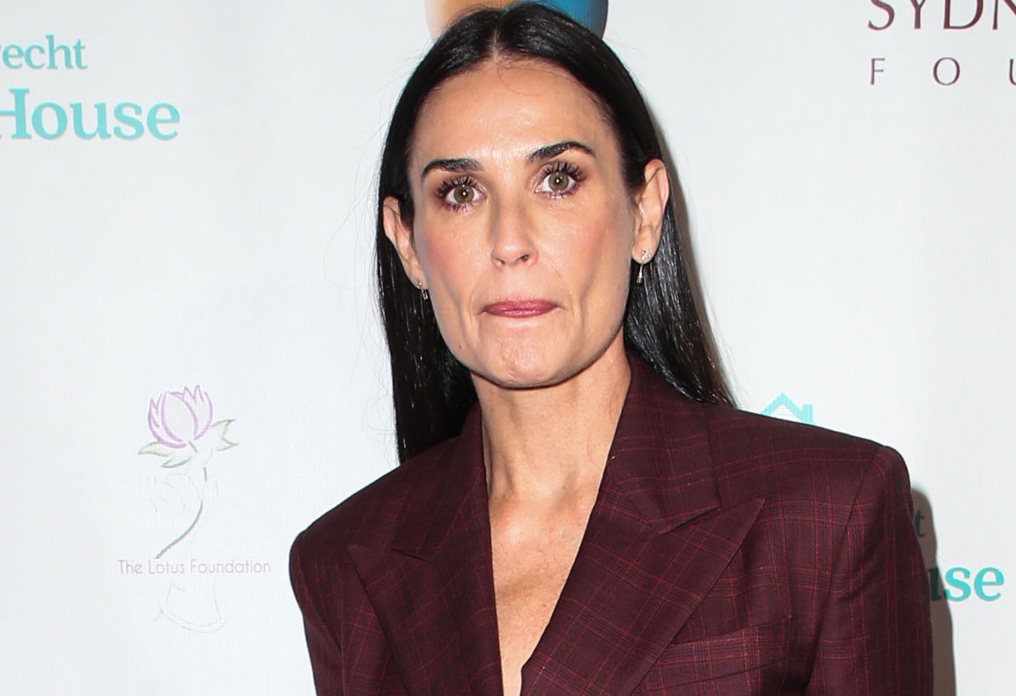 Demi Moore substance abuse recovery speech daughters rehab drugs