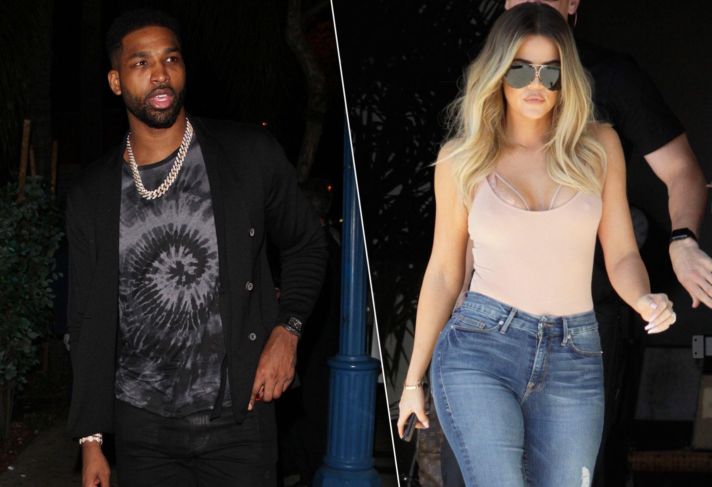 Khloe Kardashian Flirt Tristan Thompson Instagram Breakup Heartbreak