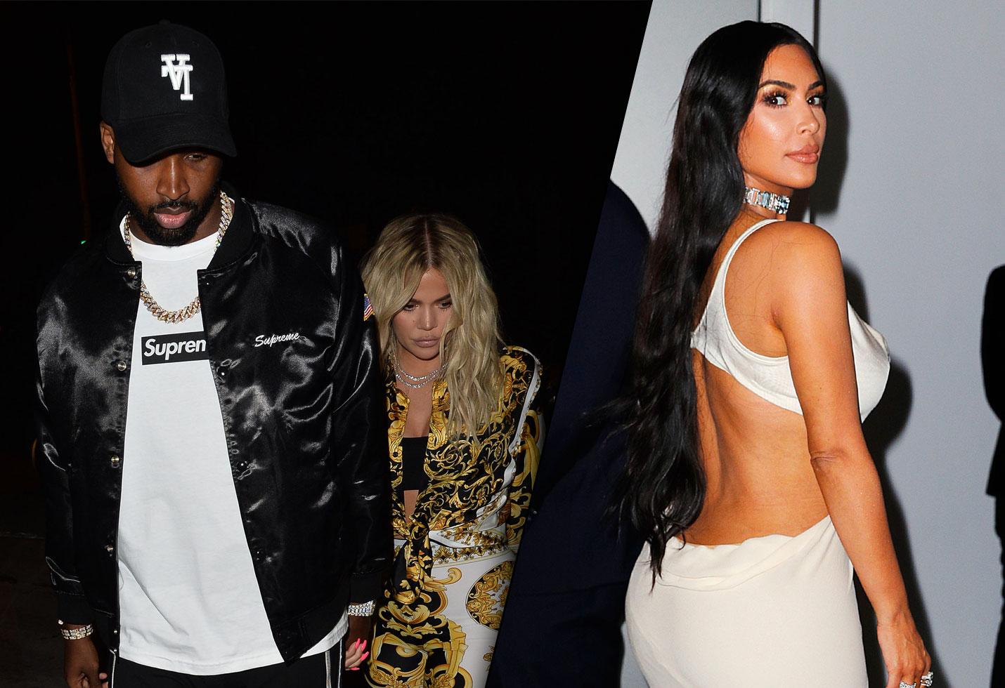 Kim Kardashian Khloe Tristan Hate Cheating Breakup
