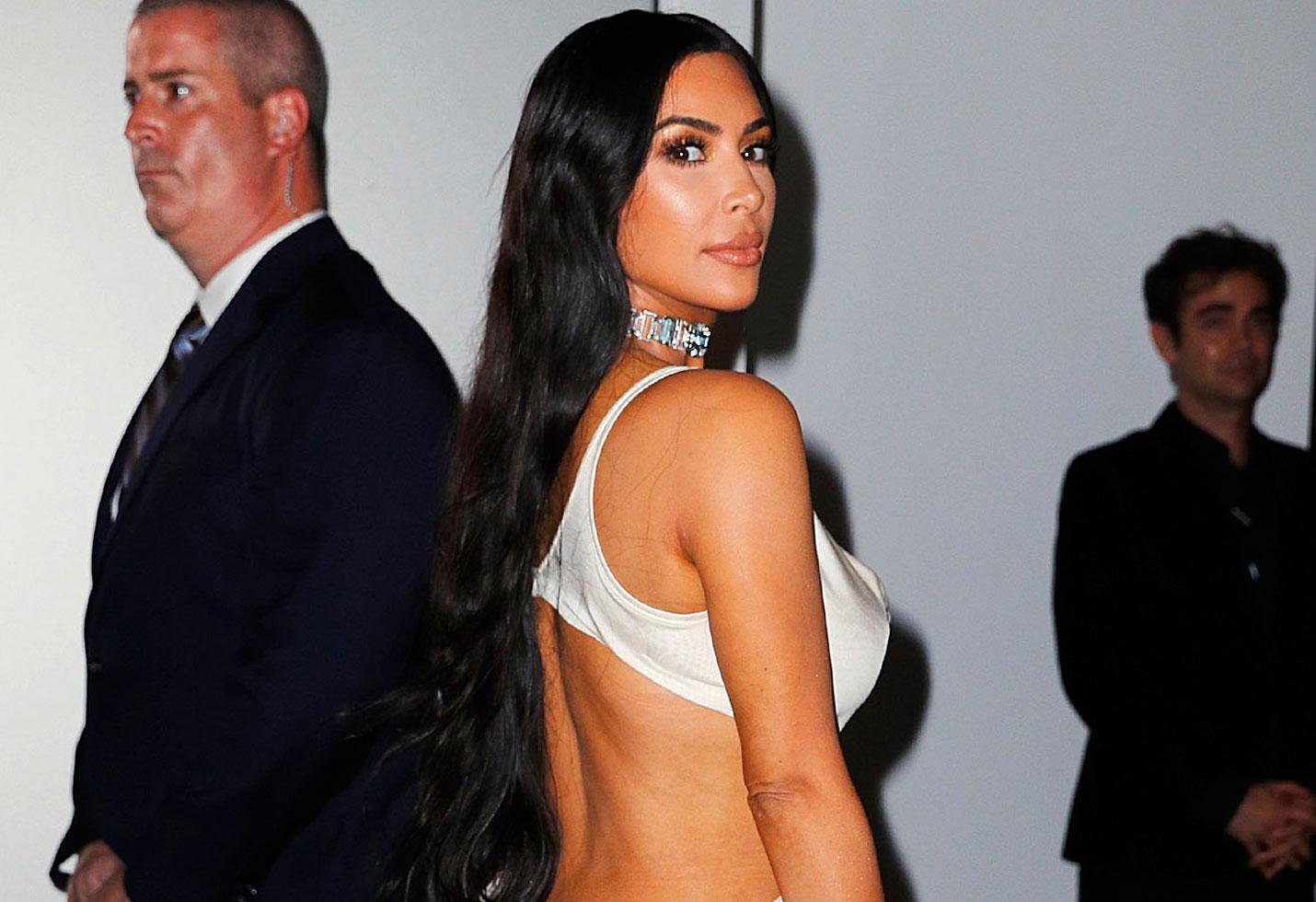 Kim Kardashian nipples topless photo kkw beauty