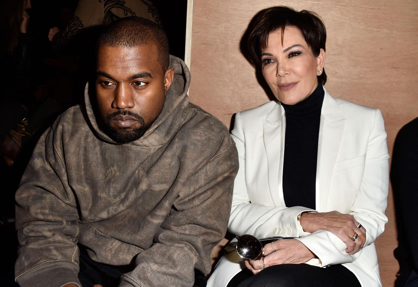 Kris Jenner Kanye West Controversy Politics KUWTK Divorce Rumors Kim Kardashian