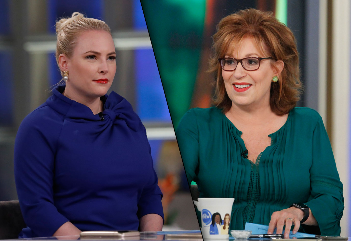 joy and megan argue on the view today