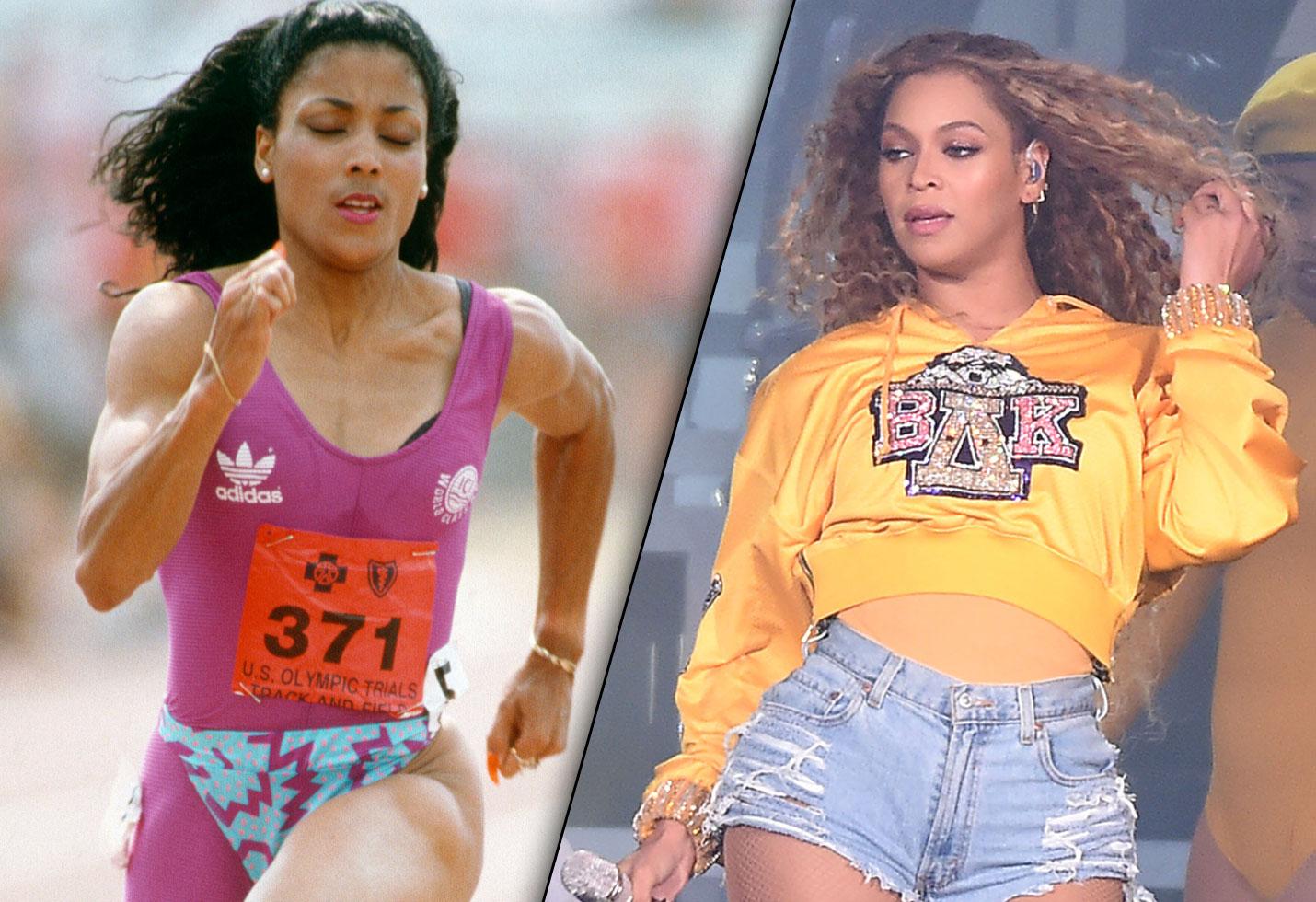 Beyonce Flo Jo Jay Z Tommie Smith Halloween Costumes 2018 Florence Griffith Joyner Olympics
