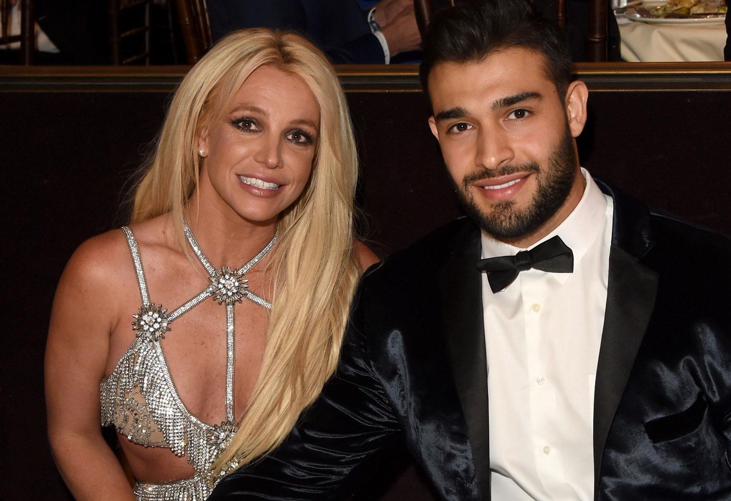 Britney spears pda sam asghari birthday
