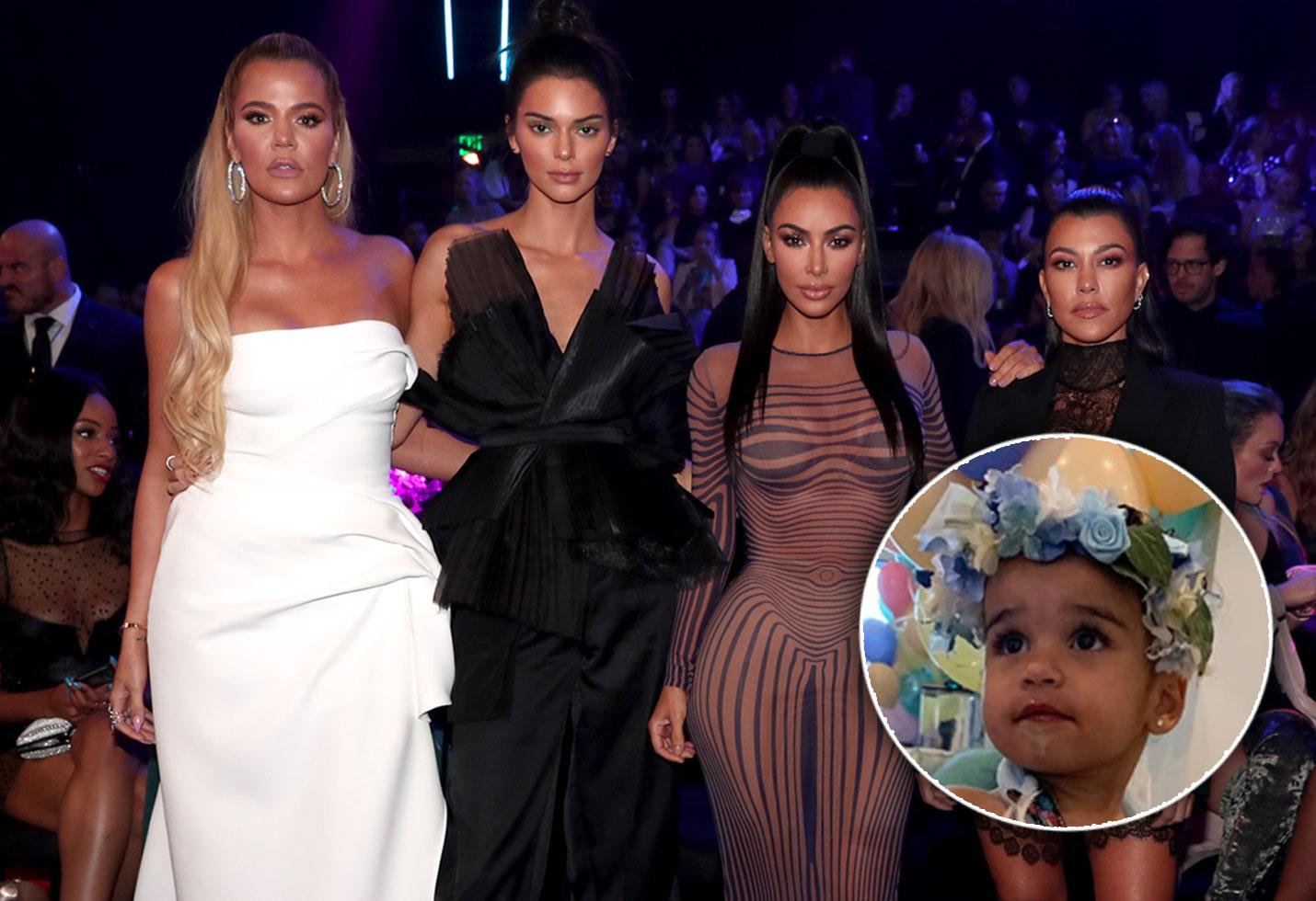 Dream Kardashian Birthday Party Rob Child Support Blac Chyna Kim Kourtney Khloe Kylie