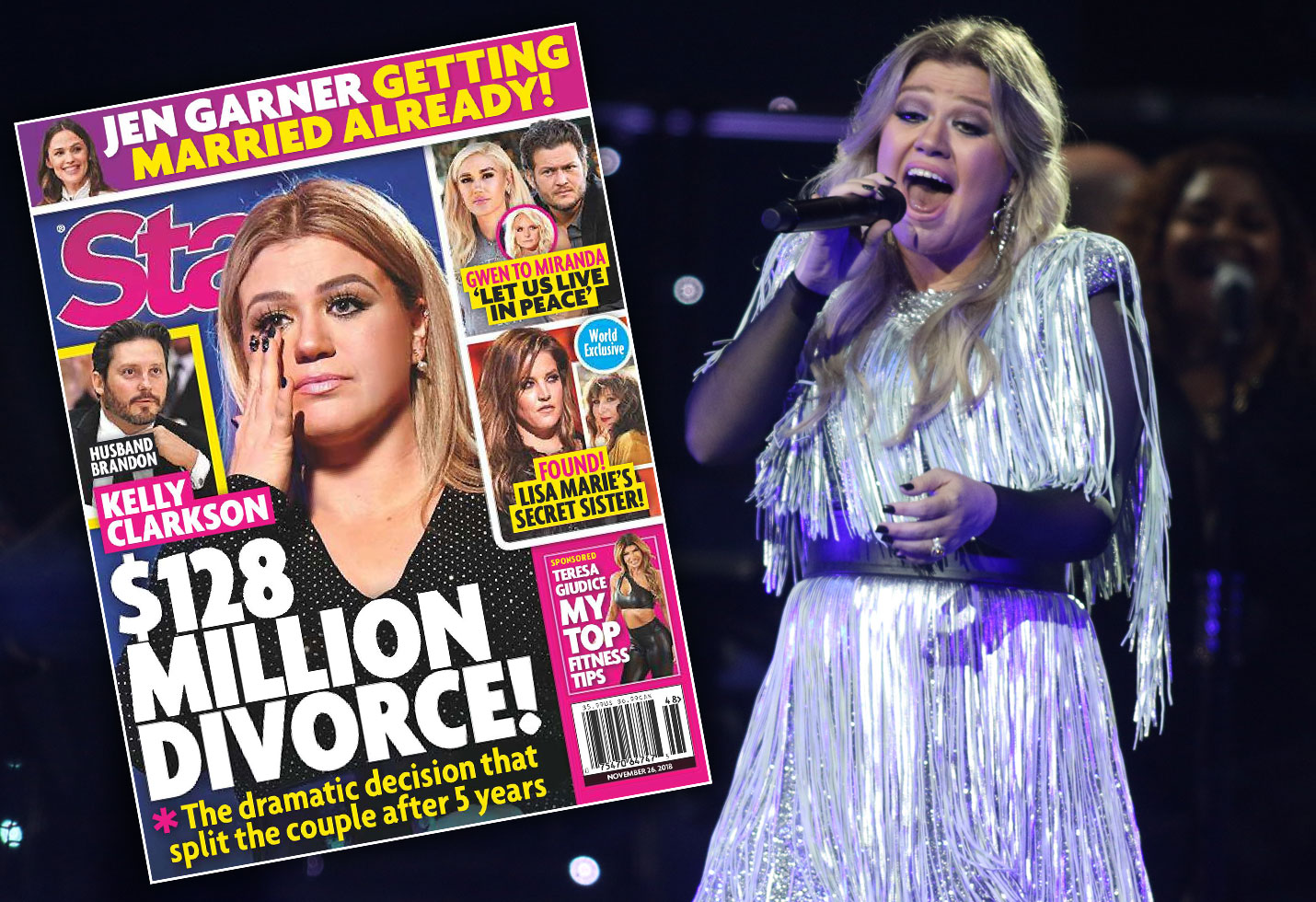 Kelly Clarkson divorce lawyers husband Brandon Blackstock