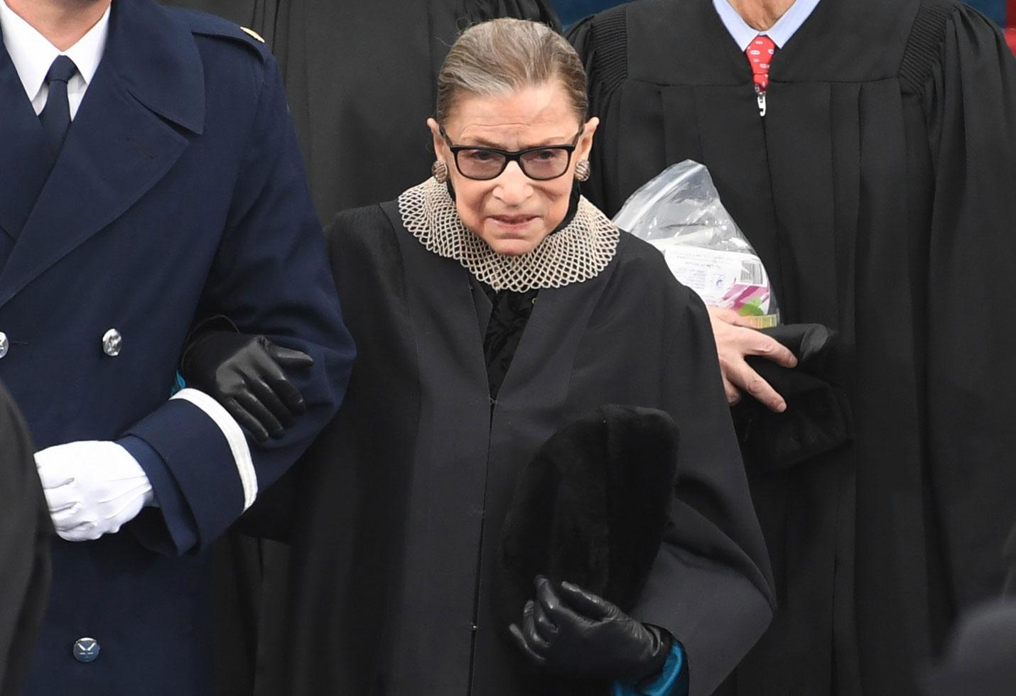 Ruth Bader Ginsburg Hospitalized Update Broken Ribs Health