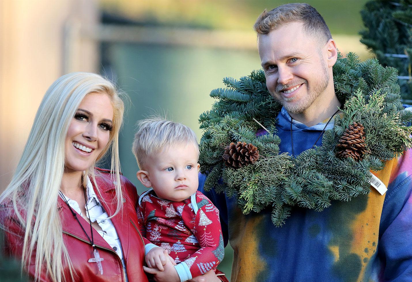 Heidi spencer pratt baby gunner christmas the hills