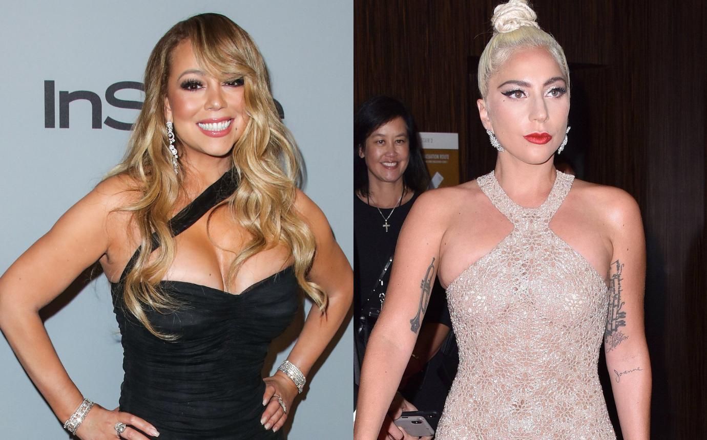Mariah carey jealous lady gaga feud