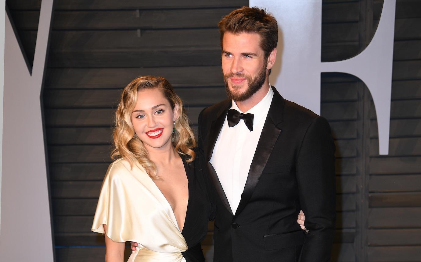 Miley cyrus liam hemsworth secret wedding photos
