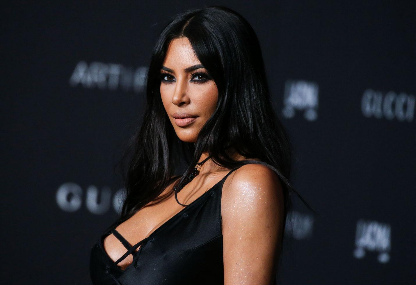 Kim kardashian instagram see-through bodysuit sexy photos