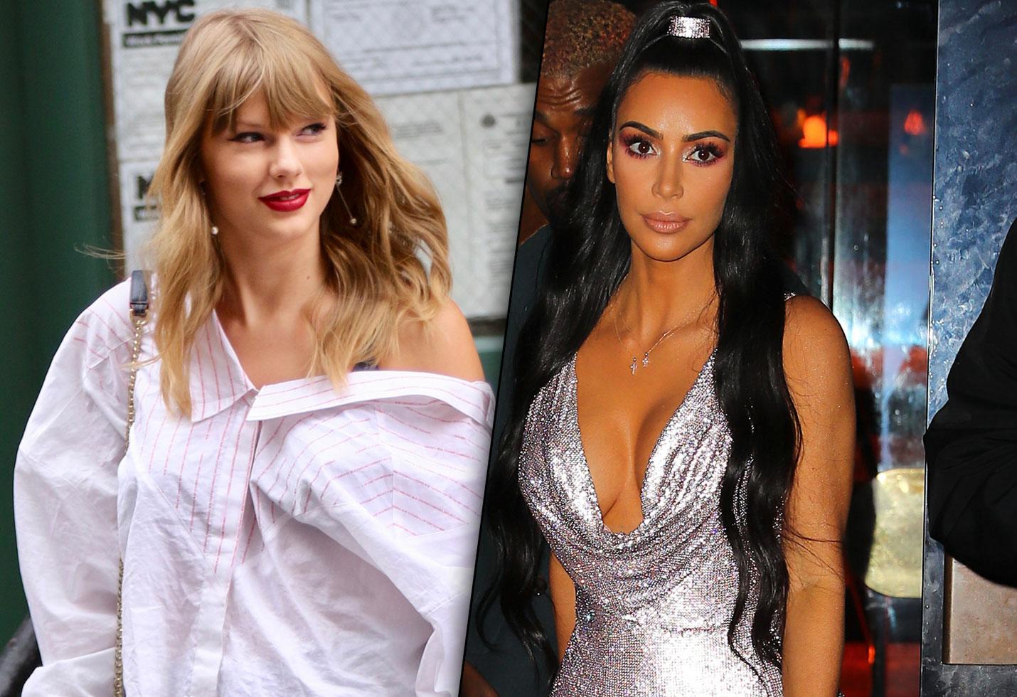 Kim kardashian taylor swift end feud timeline