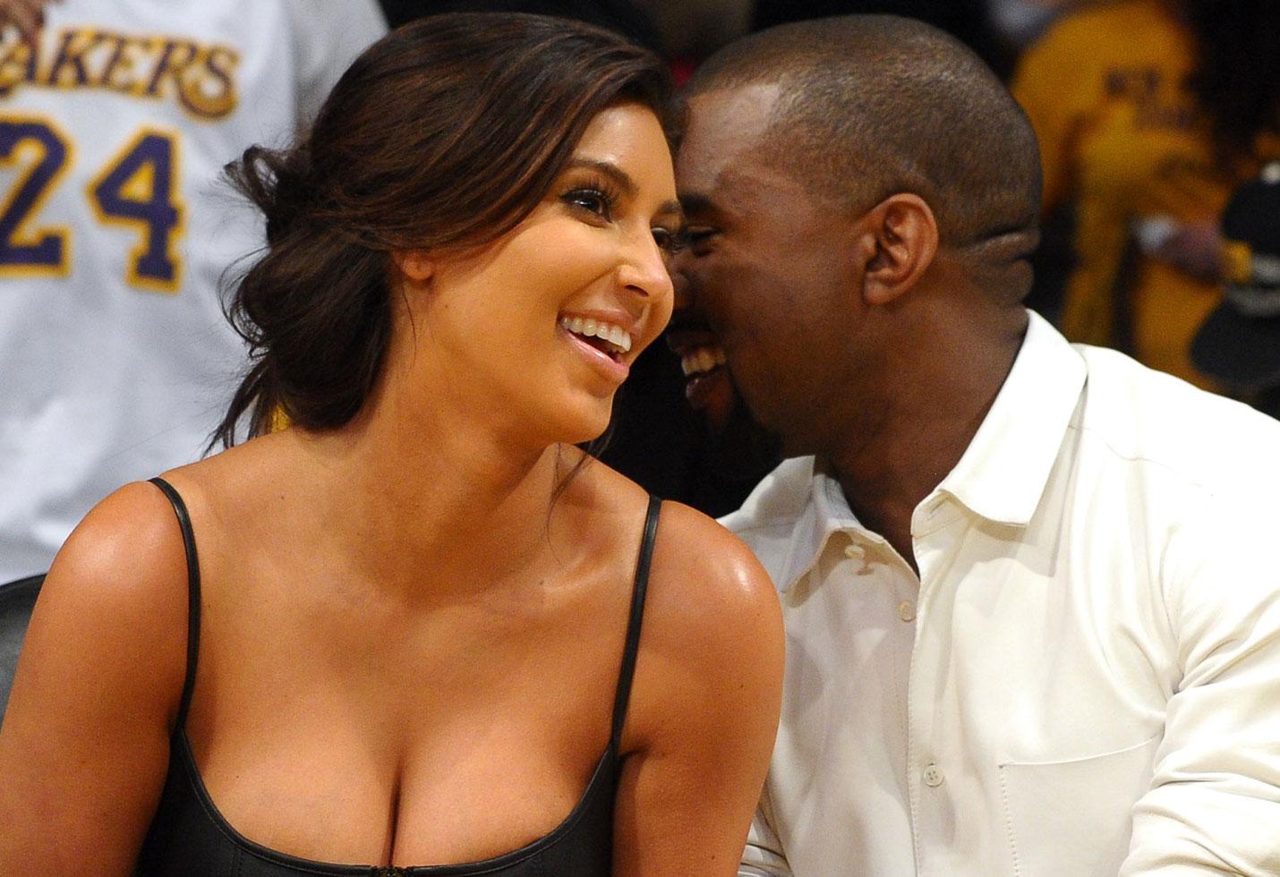 Kim kardashian kanye west valentines day relationship update