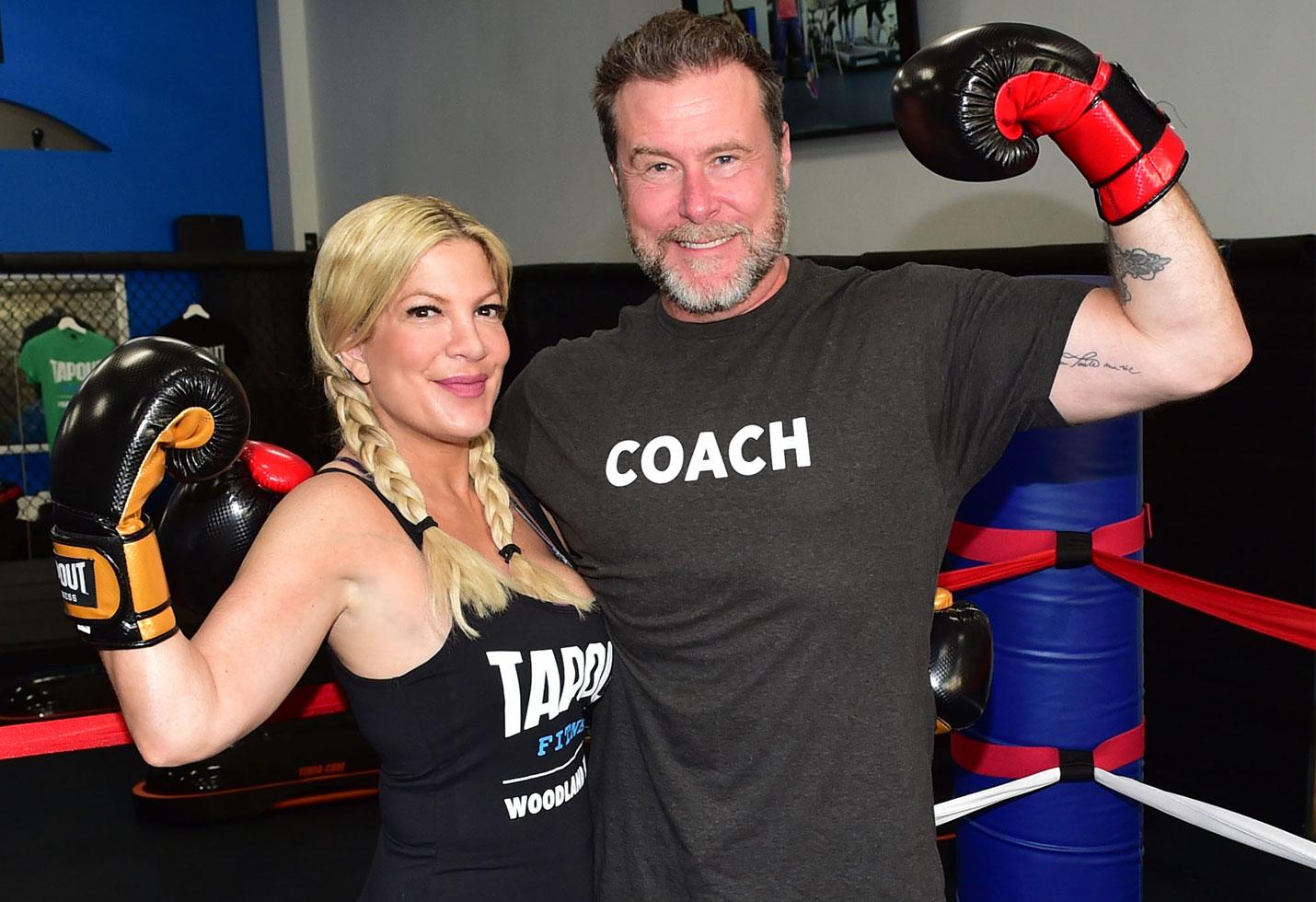 Tori spelling dean mcdermott boxing class money problems